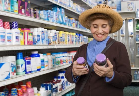 Medicamentos de venta libre o sin receta