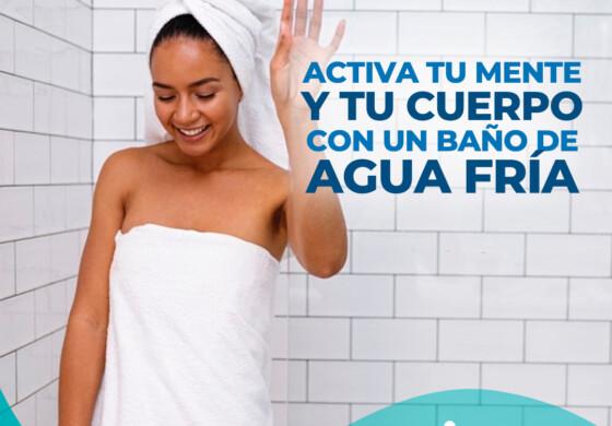 Activa tu mente y tu cuerpo con un baño de agua fría