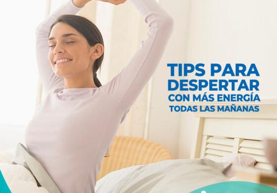 5 Tips para despertar con más energía todas las mañanas